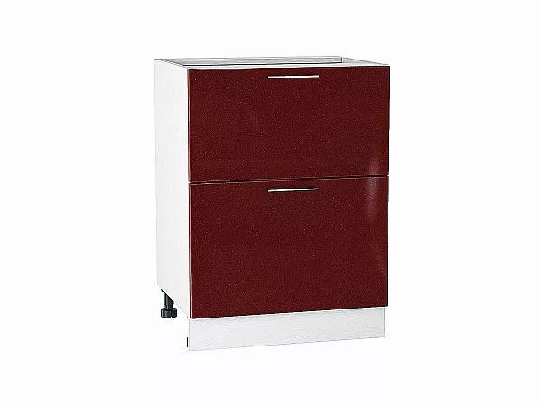 Шкаф нижний Валерия Н602 (лайм глянец)