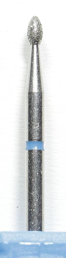 Бор алмазный, фреза средняя синяя ЧЕЧЕВИЦА