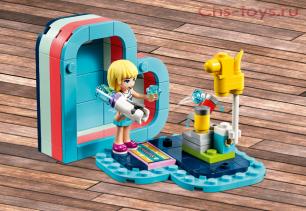 Конструктор LARI Friends Летняя шкатулка-сердечко для Стефани 11367 (Аналог LEGO Friends  41386) 96 дет