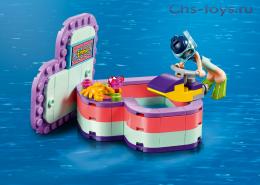 Конструктор LARI Friends Летняя шкатулка-сердечко для Эммы 11366 (Аналог LEGO Friends 41385) 89 дет