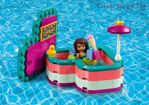 Конструктор LARI Friends Летняя шкатулка-сердечко для Андреа 11365 (Аналог LEGO Friends 41384) 86 дет