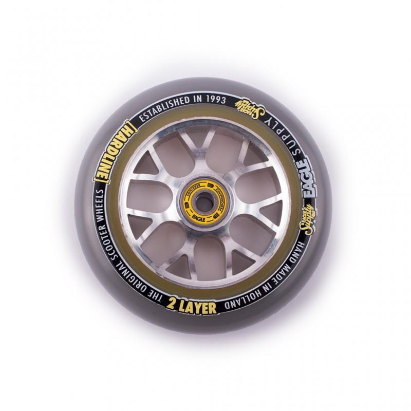 Колесо Eagle X6 Sewercaps Hard Line 2-Layer Sewercaps 115 мм Grey/Silver