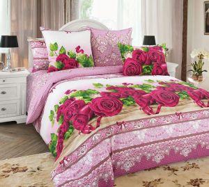 Постельное бельё Белиссимо из бязи Розы-3 размер Семейный