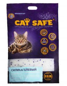 Cat safe наполнитель силикагель, 22л