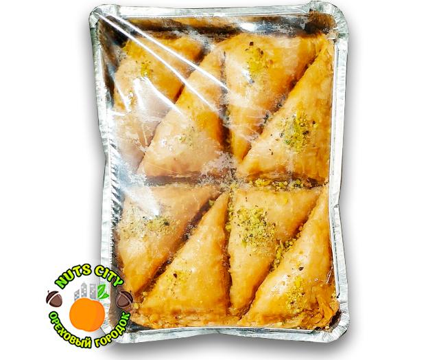 """Пахлава """"треугольники"""" с грецким орехом 700гр"""
