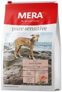 Mera 34 Pure Sensitive Adult Lachs & Reis Сухой корм  для взрослых собак с лососем и рисом, 1 кг