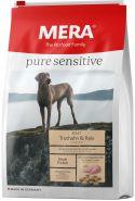 Mera 40 Pure Sensitive Adult Truthahn&Reis Корм для взрослых собак с индейкой и рисом, 1кг