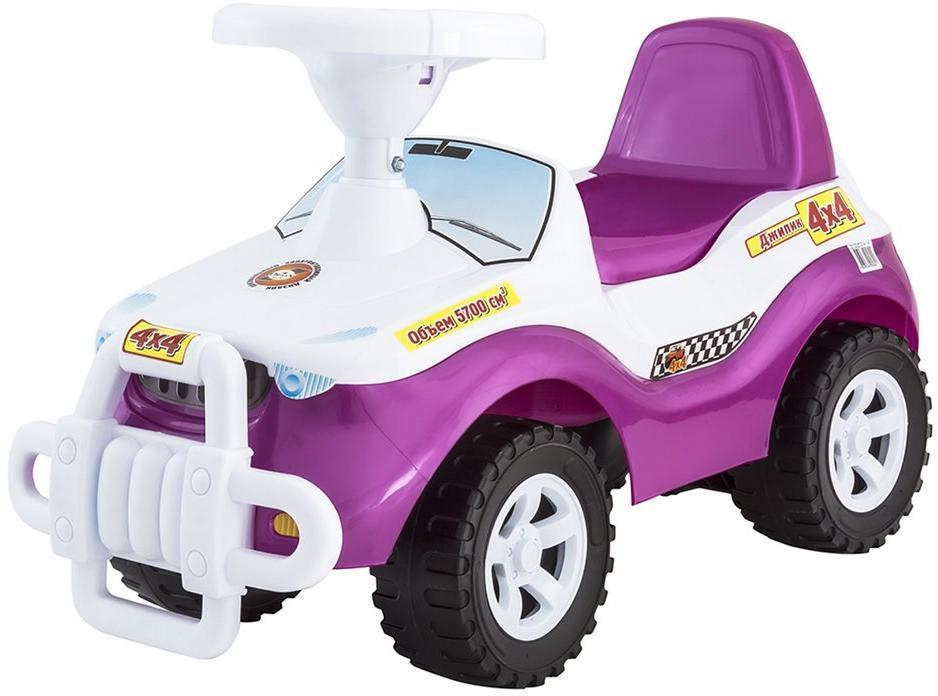 Машина-каталка Джипик розовый
