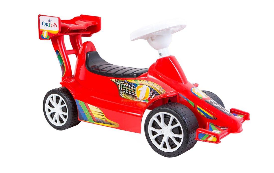 Машина-каталка Супер Спорт, красная