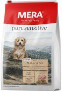 Mera 45 Pure Sensitive Mini Adult Truthahn & Reis Сухой корм для взрослых собак малых пород с индейкой и рисом, 1кг