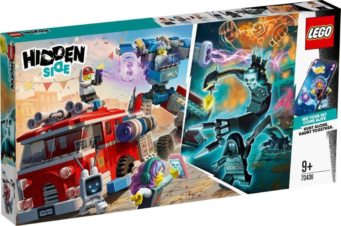 Констр-р LEGO Hidden Side Фантомная пожарная машина 3000