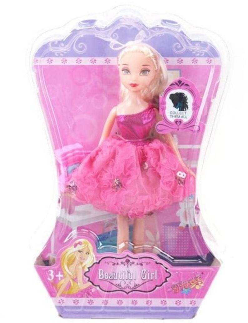 Игр.набор Модница, в комплекте кукла, предметов 1шт., блистер
