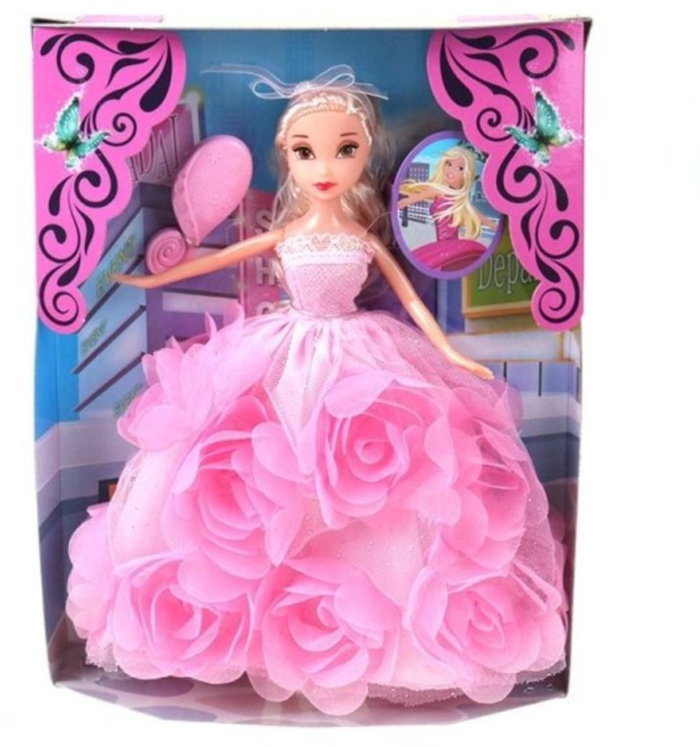 Игр.набор Модница, в комплекте кукла, предметов 1шт., коробка