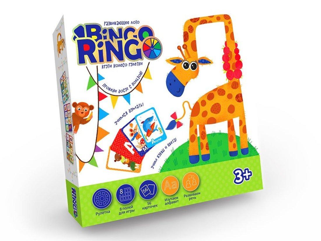 Лото развивающее Bingo Ringo