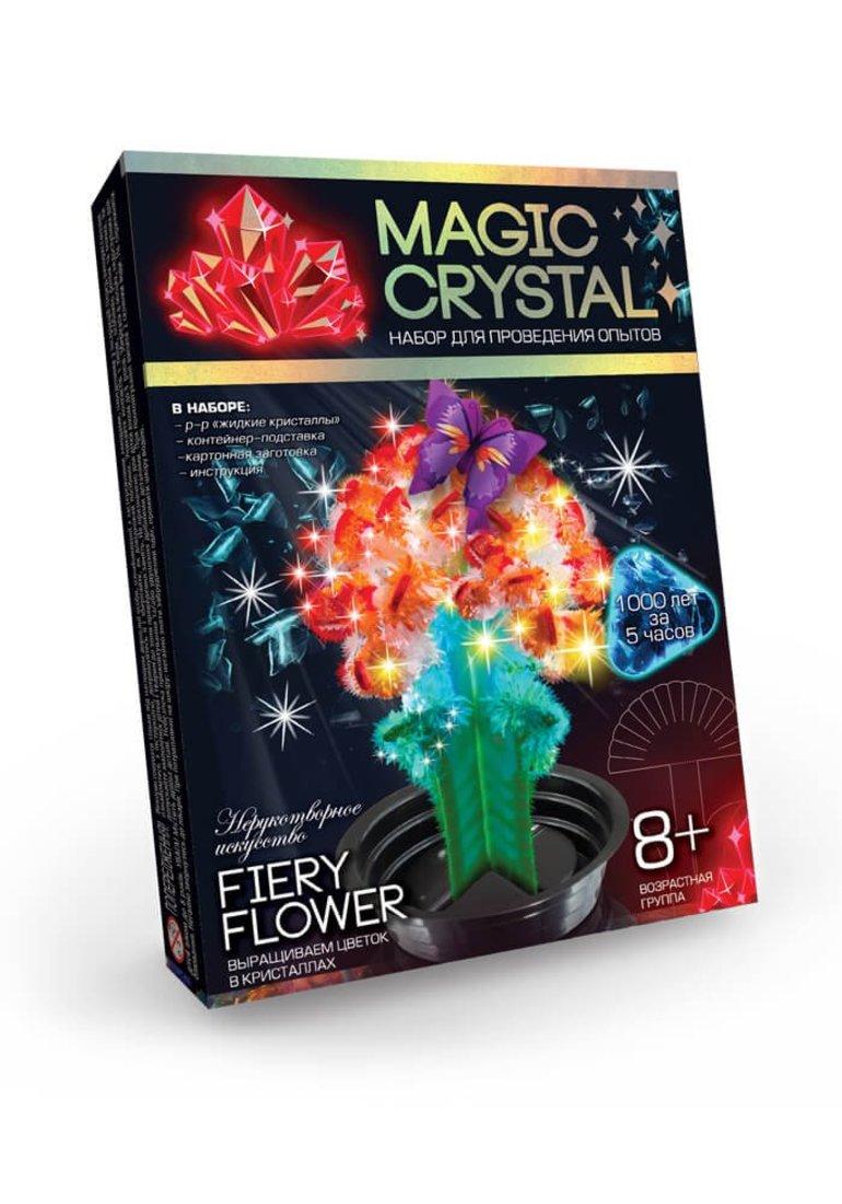 Набор для опытов Мagic Crystal, Огненный цветок