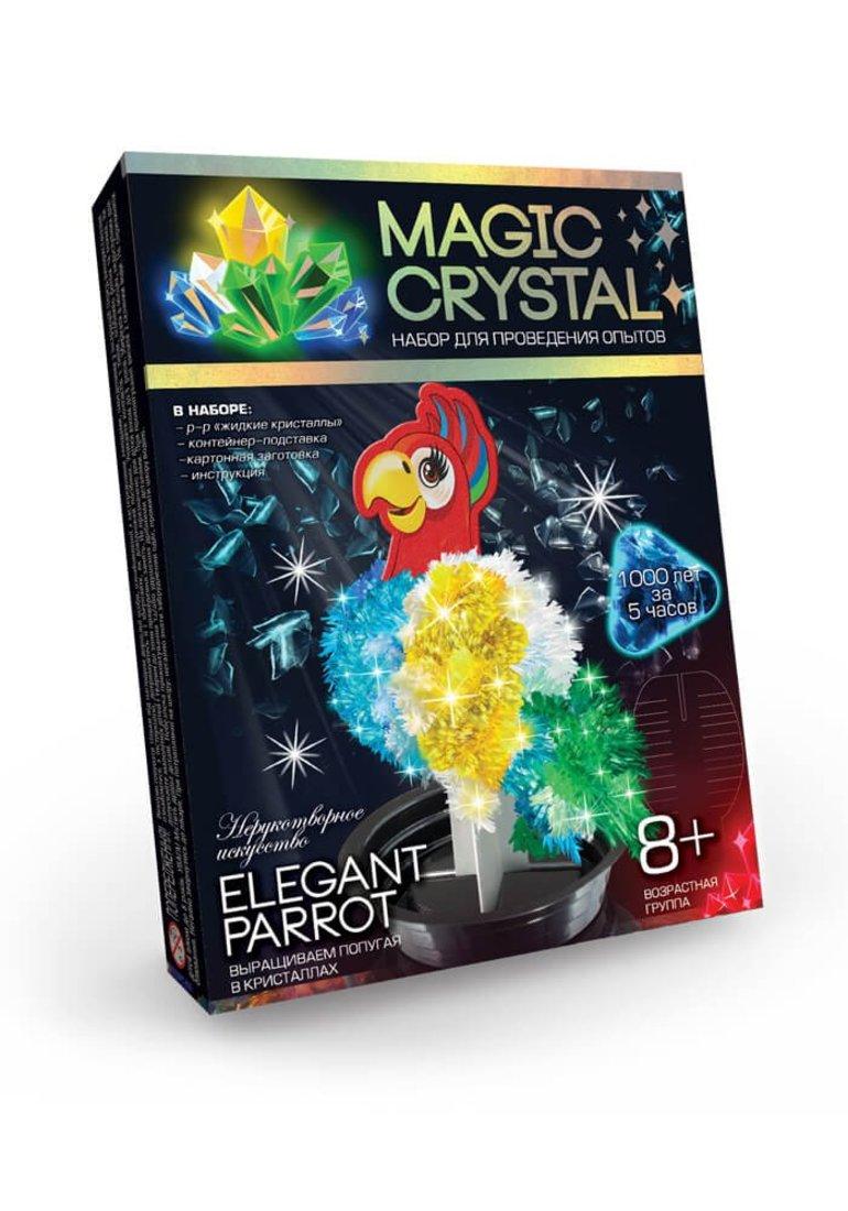 Набор для опытов Мagic Crystal, Попугай