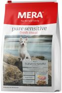Mera 49 Pure Sensitive Mini Fresh Meat Adult Truthahn&Kartoffel  Корм для взрослых собак малых пород со свежим мясом индейки и картофелем, 1кг