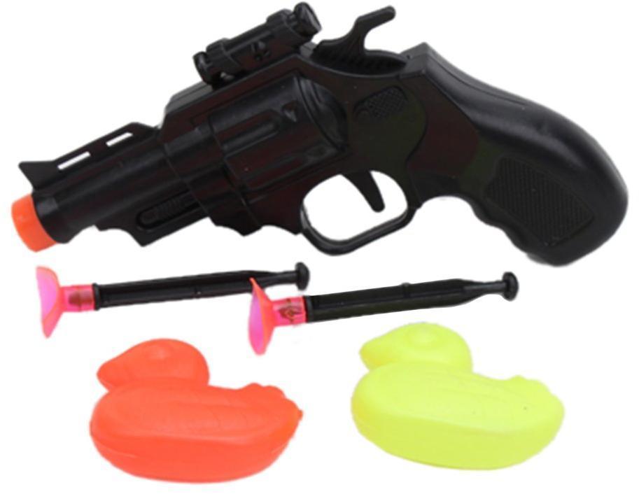 Игр.набор Стрелок, в комплекте пистолет, стрелы с присосками 2шт., фигурки 2шт.