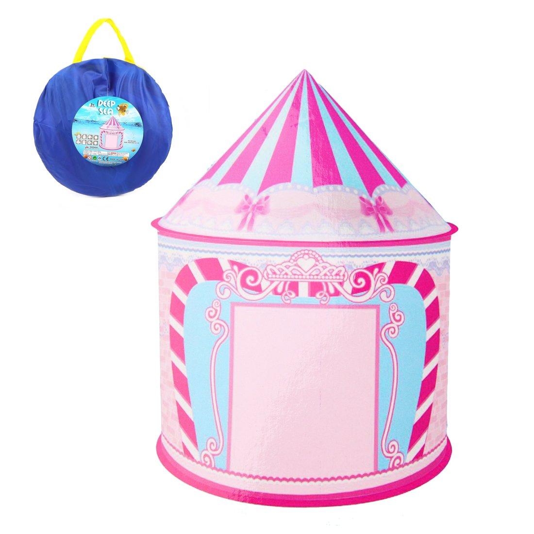 Палатка игровая Замок Принцессы, сумка на молнии