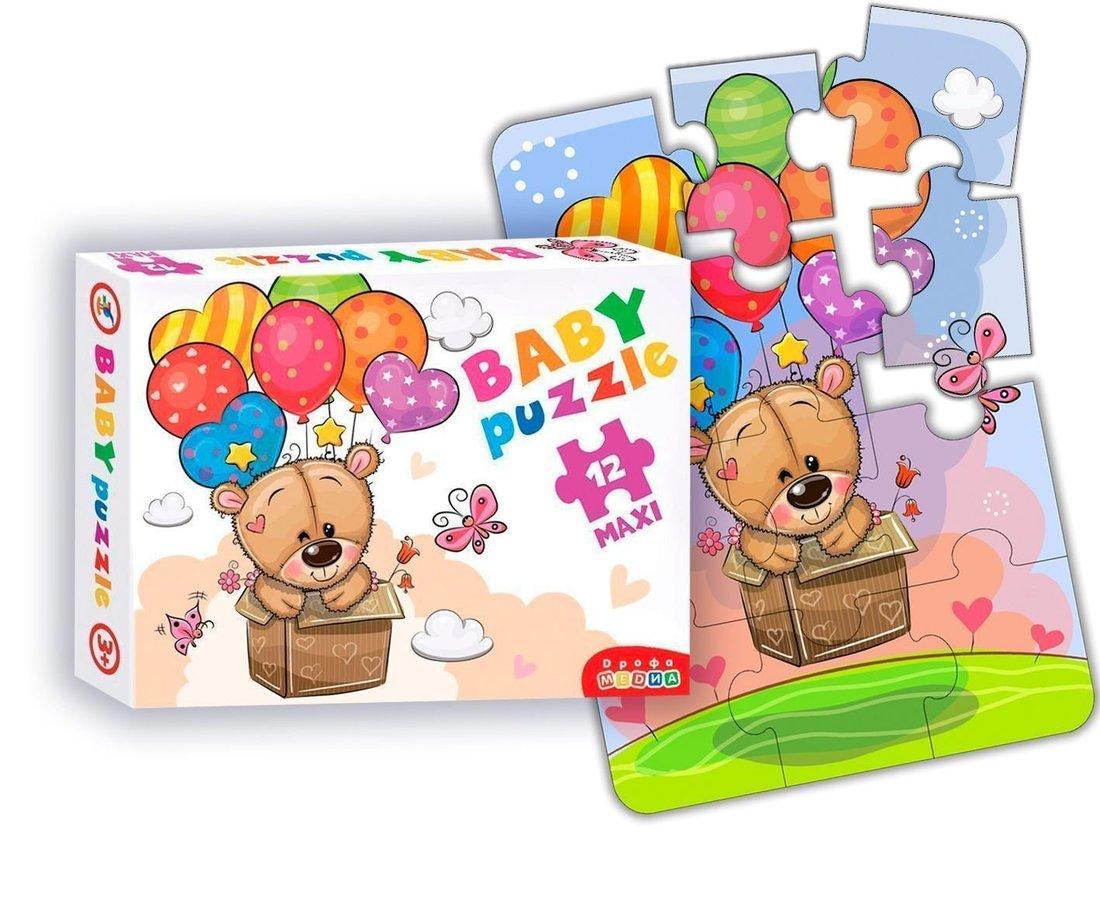 Пазлы Baby Puzzle Мишка и воздушные шары