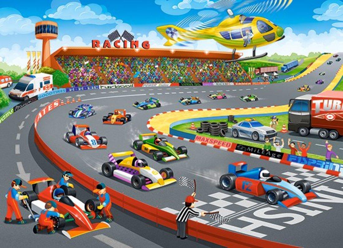 Пазлы 70 Premium Формула-гонки