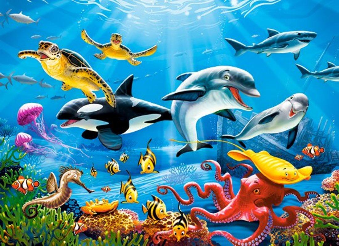 Пазлы 200 Premium Подводный мир