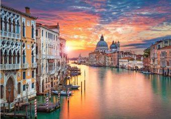 Пазлы 500 Венеция на закате