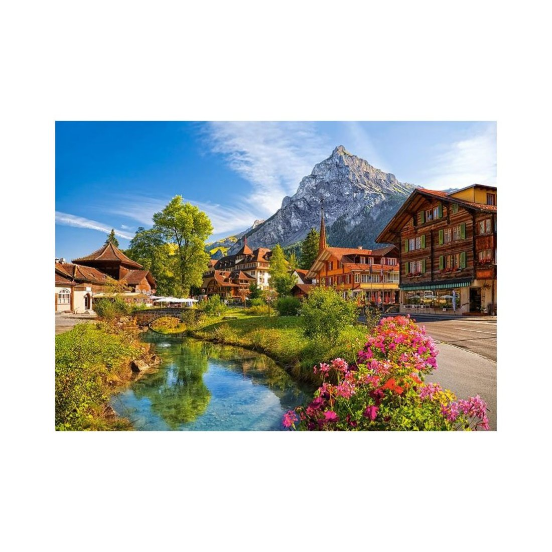 Пазлы 500 Кандерштег, Швейцария
