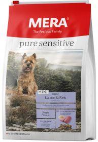 Mera 43 Pure Sensitive Mini Adult Lamm & Reis Сухой корм для взрослых собак малых пород с ягненком и рисом, 1 кг