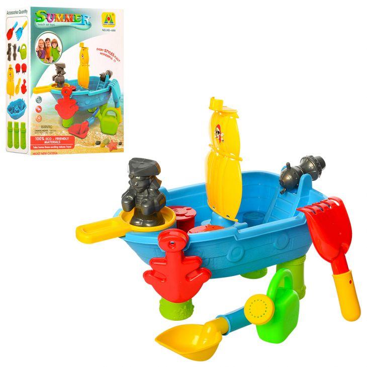 Песочница - столик Корабль