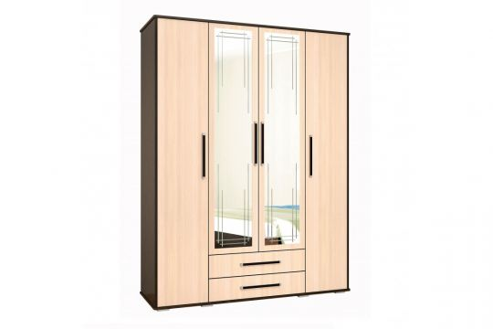 Шкаф 4-х дверный Эмилия