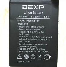 DEXP Ixion ES450 аккумулятор для смартфона