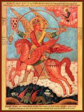 Икона Архангел Михаил грозных сил воевода
