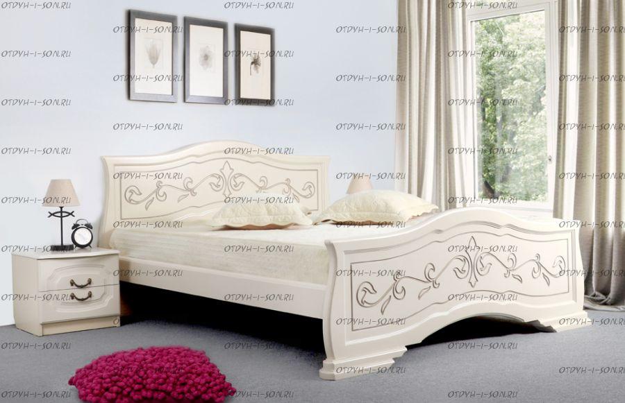 Кровать Людмила-14 массив