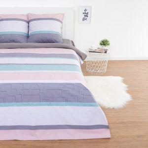 Комплект постельного белья: пододеяльник, 2 наволочки, 2 сп Этель «Мятное утро» 180х217 см, 70х70 см-2 шт, поплин