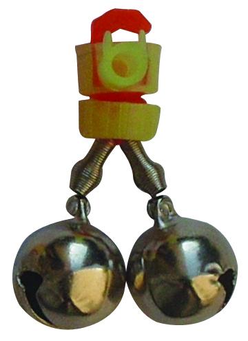 Бубенчик двойной  SWD 7004181 колокольчик