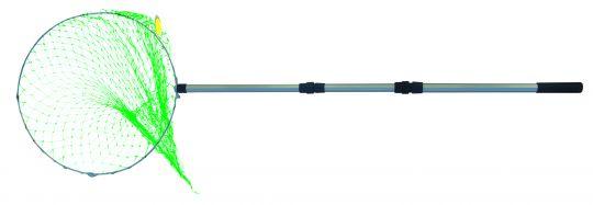 Подсачек телескопический 6-гран. ручка круглый Д50см