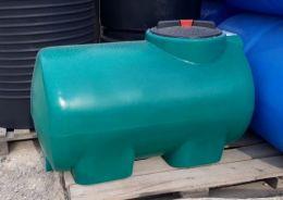Бак для воды H 300 литров зеленый