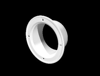 Фланец пластик D160