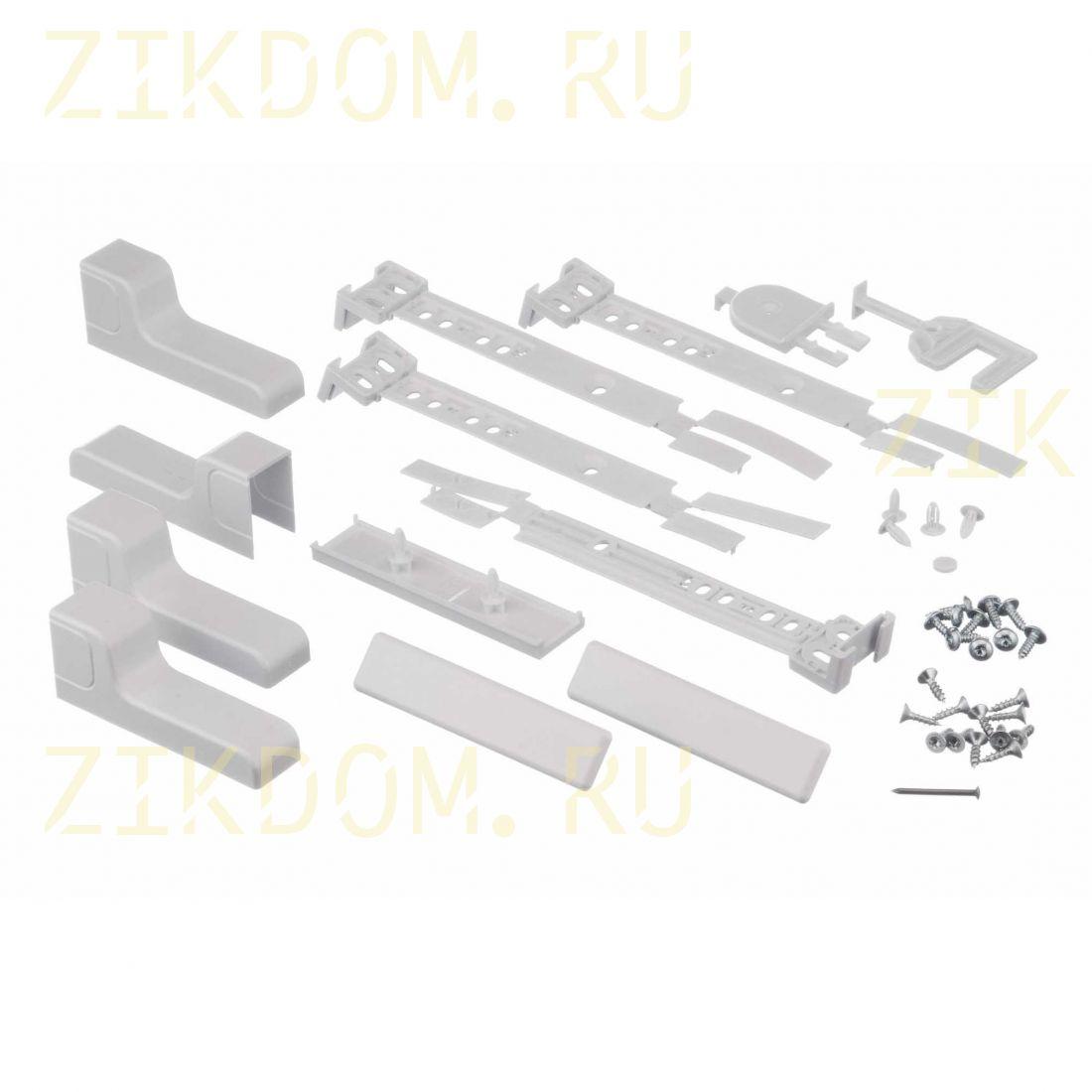 491367 Комплект для навески фасадов холодильника Bosch, Siemens, Neff