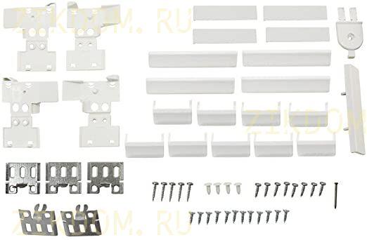 491365 Комплект для навески фасадов холодильника Bosch, Siemens, Neff
