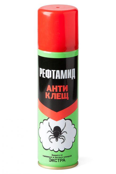 """Аэрозоль РЕФТАМИД """"Экстра Антиклещ"""" 145 мл"""