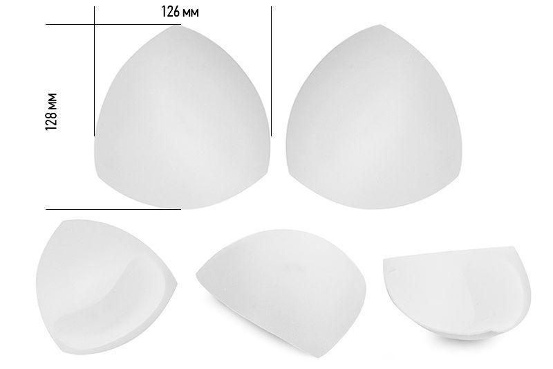 чашечки корсетные треугольные с эффектом push-up