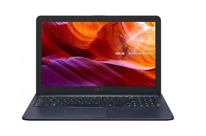 "Ноутбук ASUS X543UB-DM1172T (i3-7020U/4Gb/SSD 256Gb/nV MX110 2Gb/15,6"" FHD/BT Cam 2600мАч/Win10) Темно-серый (90NB0IM7-M16590)"