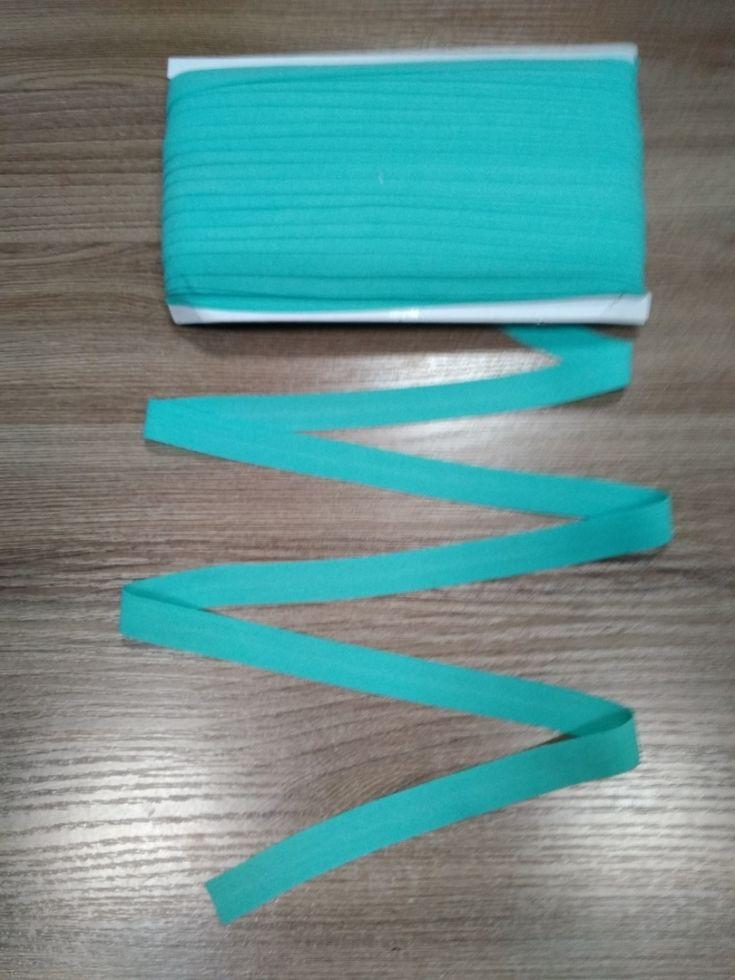 окантовочная резинка-бейка матовая ментол