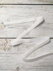 резинка бельевая отделочная 15мм  белая