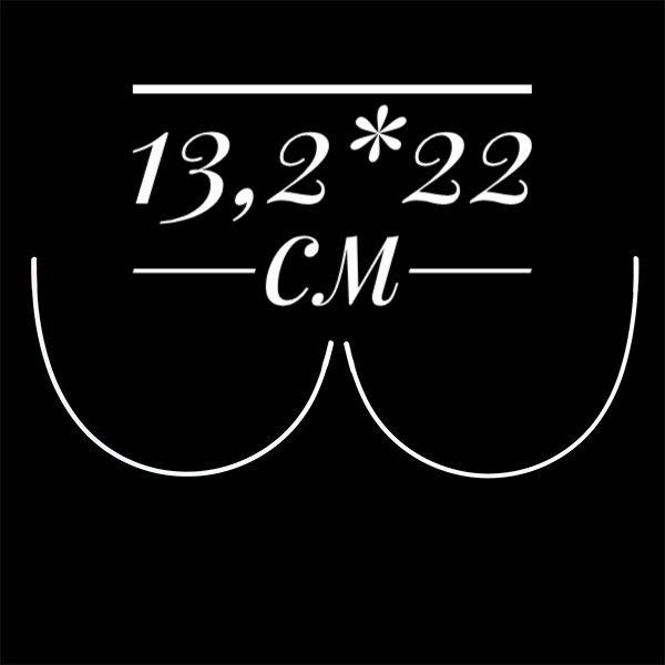 Косточки корсетные полукруг металл  Размер 13,2*22 см