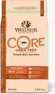 Wellness CORE Беззерновой полнорационный корм из индейки с курицей для взрослых кошек, 1,75 кг