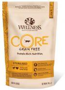 Wellness CORE STERILISED  Корм из курицы с индейкой для стерилизованных кошек и кастрированных котов, 300 г