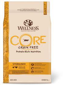 Wellness CORE STERILISED  Корм из курицы с индейкой для стерилизованных кошек и кастрированных котов, 1,75 кг